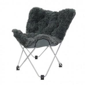 Oventure Fluffy Chair kampeerstoel - grijs