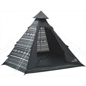 Easy Camp Tipi Tribal Zwart