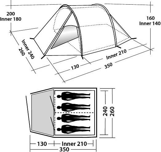 Indeling Easy Camp Tornado 400
